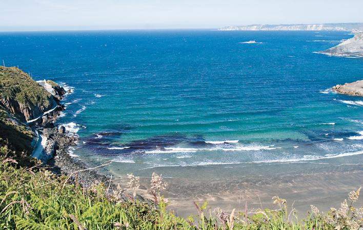 playa de Salinas Luarca