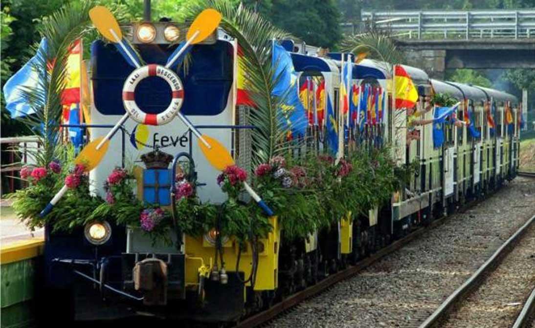 tren fluvial sella