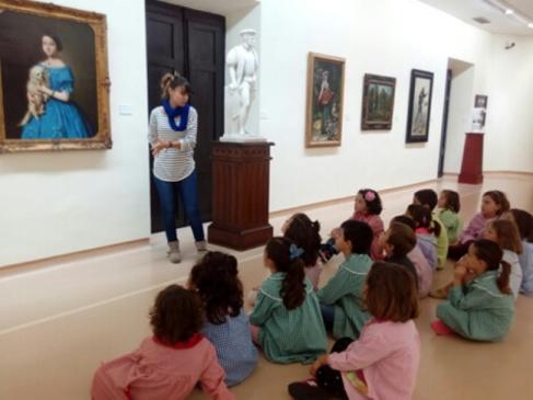 Taller infantil en Museo Bellas Artes de Asturias