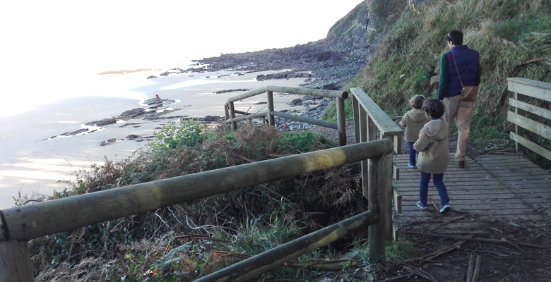 Playa de la Griega - Costa de los dinosaurios (Asturias)