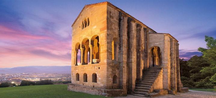 Iglesia prerrománica de Santa María del Naranco.