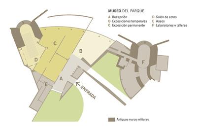 Plano Parque Arqueológico de la Campa Torres