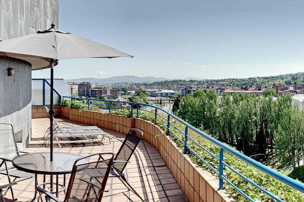 Apartamento Superior Aparthotel Campus Oviedo