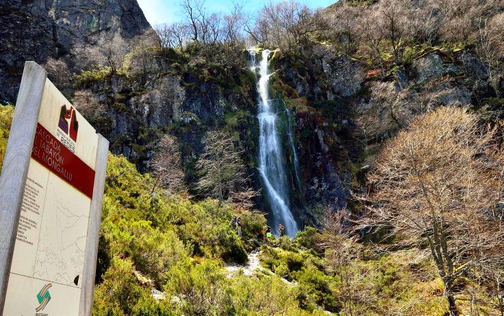 Imagen cascada del Tabayón del Mongayo