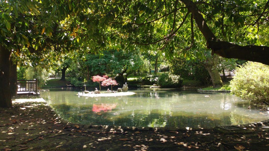 Parque San Francisco en Oviedo