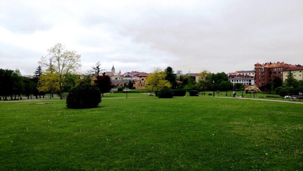 Parque de Santullano en Oviedo